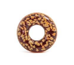 Круг для плавания «Пончик», шоколадный, 114 см, от 9 лет