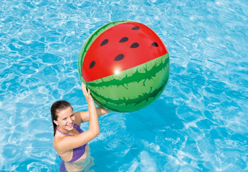 Пляжный мяч Арбуз, от 3 лет