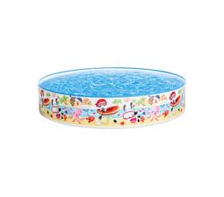 """Детский каркасный бассейн """"Весёлый пляж"""" 152х25 см"""