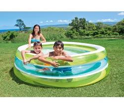 Надувной бассейн с прозрачными стенками