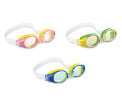 Очки для плавания JUNIOR от 3-8 лет, цвета микс