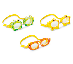 Очки для плавания FUN от 3-8 лет, цвета микс