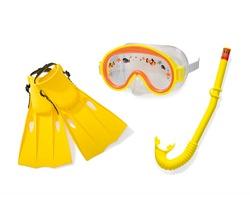 Набор для плавания Искатель приключений (55911. 55922, 55936), 3-8 лет, Створчатая упаковка