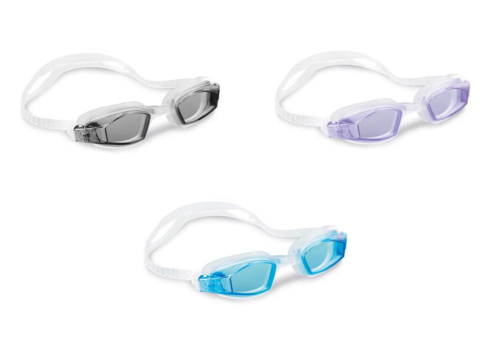 """Очки для плавания """"Free Style Sport"""", от 8 лет, 3 цвета"""