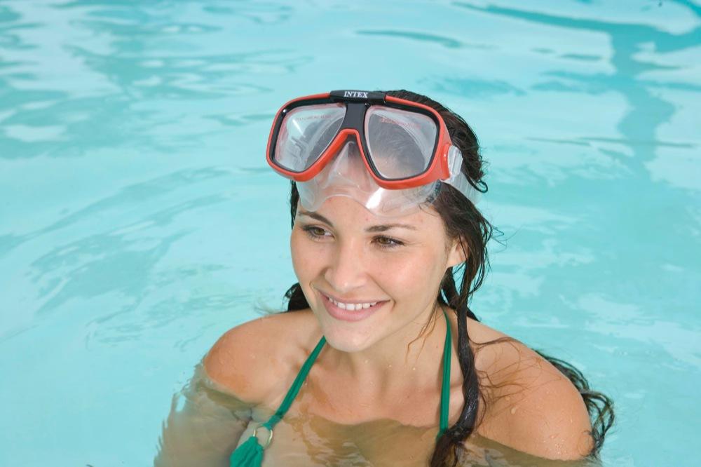Маски для плавания Риф райдер, от 8 лет, 2 цвета