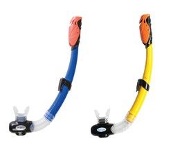 Трубки для дыхания под водой Гипер-флоу, 3-10 лет, 2 цвета Сумка из ПВХ /Держатель/Инструкция