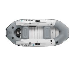 Лодка надувная «Мореход 3», 127х297х46 см, вёсла алюминиевые, насос ручной, до 300 кг