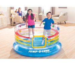 Прозрачный надувной батут JUMP-O-LENE™, 3-6 лет