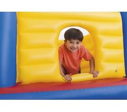Прозрачный надувной батут JUMP-O-LENE™ Замок, 3-6 лет
