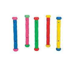 Подводные палочки для ныряния, 5 цветов в наборе, от 6 лет