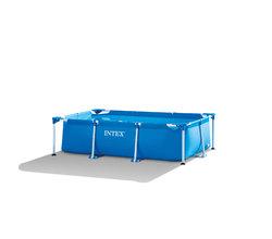 Бассейн каркасный Frame Set, прямоугольный, 220х150х60 см (от 6 лет)