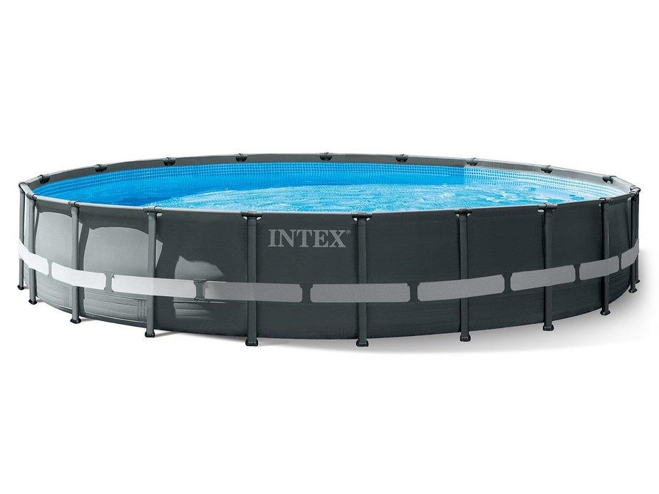 Каркасный бассейн 610х122 см Ultra XTR Frame Pool Intex OEM (от 6 лет)