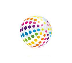 Мяч пляжный «Джамбо», 107 см, от 3-х лет