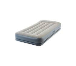 Надувная кровать с подголовником и технологией FIBRE-TECH™ (встроенный электронасос 220-240 В)