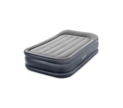 Надувная кровать Делюкс с высоким подголовником (встроенный электронасос 220-240 В)