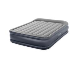 Двухспальный надувной матрас Делюкс с высоким подголовником (встроенный электронасос 220-240 В)