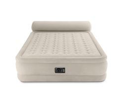 Удобная надувная кровать с изголовьем (встроенный электронасос 220-240 В)