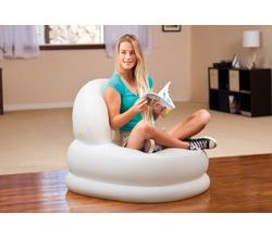 Надувное кресло Мода Белое