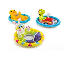 Круг для плавания с сиденьем «Зверюшки», от 3 до 4 лет, цвета микс