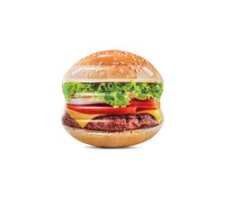 "Пляжный надувной матрас ""Гамбургер"" 145х142 см"