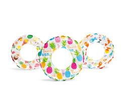 Круг для плавания «Звезды» 61 см, от 6-10 лет, цвета микс