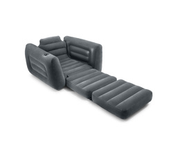 Надувное раскладное кресло INTEX 117х224х66 см