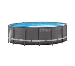 Каркасный бассейн PRISM FRAME 366х122 см, фильтр-насос 3785 л/ч, лестница, 10685 л (от 6 лет)