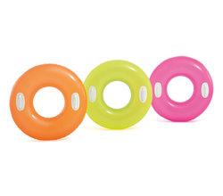 Круг для плавания с ручками «Яркое настроение», 76см, от 8 лет, цвета микс