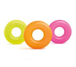 Круг для плавания «Неон», 91см, от 9 лет, цвета микс