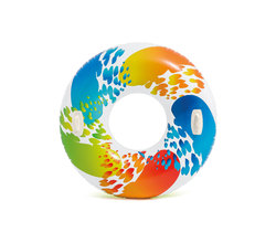 Круг для плавания «Цветной вихрь», 122 см, от 9 лет